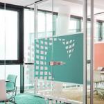 Divisória de vidro para consultório