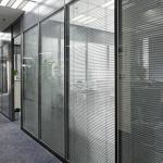 Divisória vidro duplo persiana interna preço
